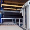 Carregador de fornos semi automático